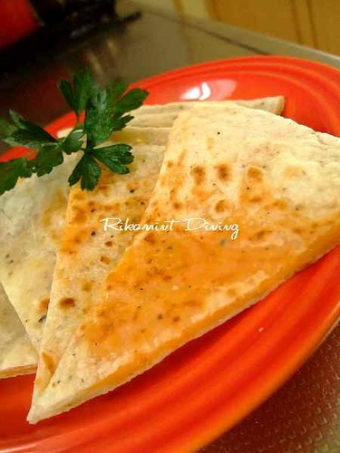 No Proofing: Cheddar Cheese Paratha