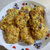 Ganmodoki Fritters from Tofu