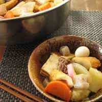Miso Simmered Oden - Popular For School Lunches