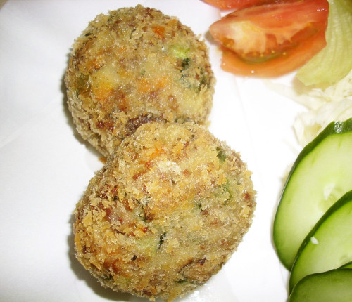 Ingredient-packed Croquettes