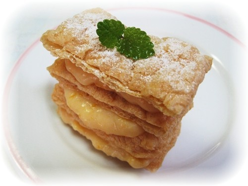 Abura-age Napoleon Cakes