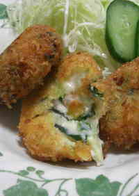 Shrimp and Spinach Cream Croquettes
