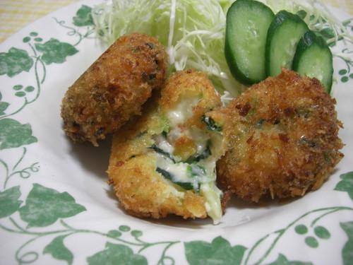Shrimp and Spinach Cream Croquettes