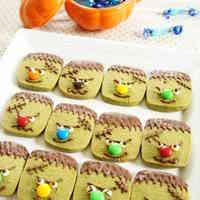 Matcha Frankenstein Cookies