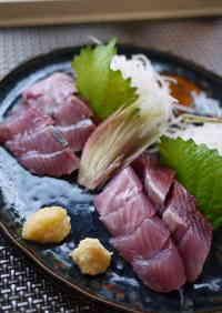 Preparing Frigate Mackerel (Katsuo)