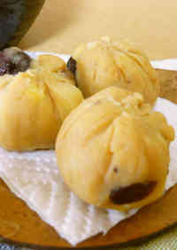 Oven-Free Wagashi-style Sweet Potato Treats
