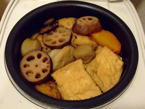 Macrobiotic Oden Made Simple with a Rice Cooker