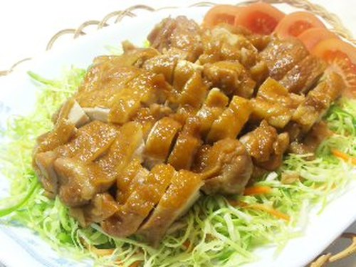 Simple Chicken Simmered in Soy Sauce