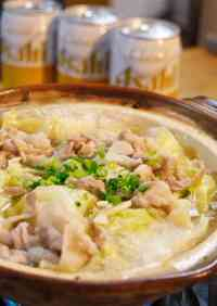 Salty Garlic Butter Hot Pot with Pork and Cabbage