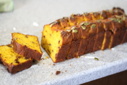 Kabocha Squash & Chocolate Pound Cake