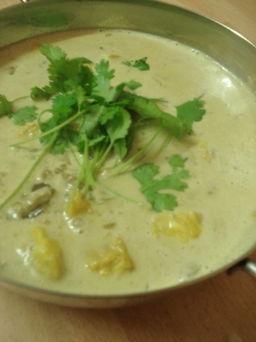 Indian Cuisine: White Fish Coconut Curry