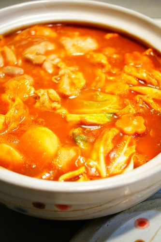 Tomato Curry Hot Pot