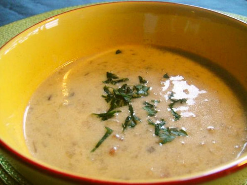 Restaurant Quality Mushroom Cream Soup