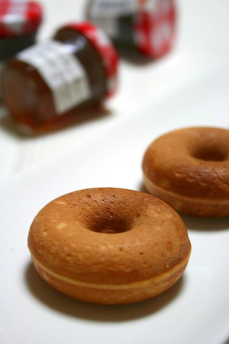 Baked Donuts (Plain and Cocoa)