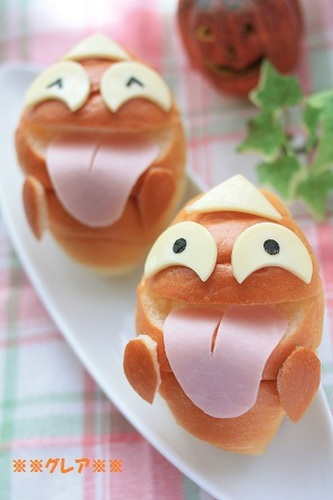 Halloween Ghost Sandwiches