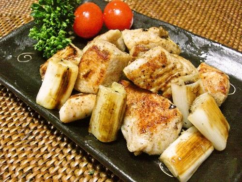 Chicken and Leek with Yuzu Pepper Paste