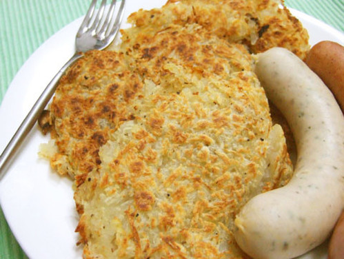 Simple Rösti (Hash Browns)