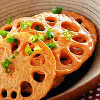 Lotus Root & Gochujang Mayonnaise Salad