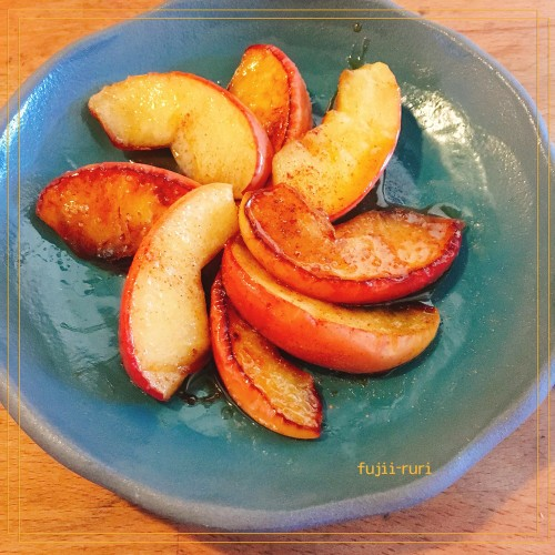 Easy Baked Apples in a Frying Pan