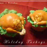 Roasted Turkey Cupcakes