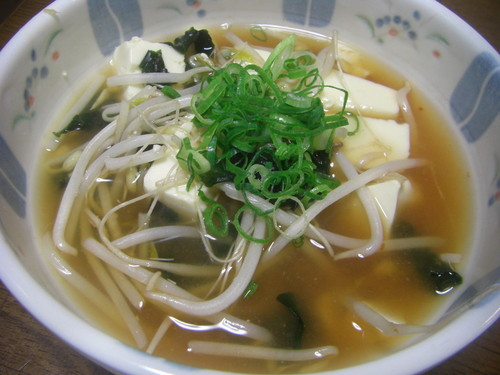 Diet Meal Tofu & Bean Sprout Soup