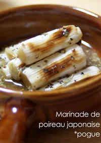 5-Minute Grilled Leeks in Lemon Mustard Marinade