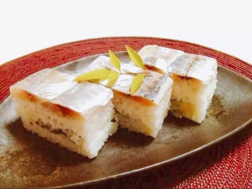 Saba Oshizushi (Pressed Horse Mackerel Sushi)