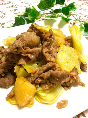 Beef and Pineapple Stir-Fry