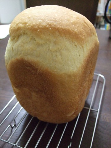 Made in a Bread Machine Oil-Free Bread with Egg and Rice Flour