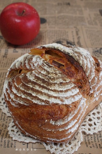 Apple & Walnut Pain de Campagne