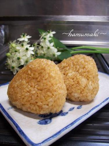 Toasted Onigiri with Leftover Rice