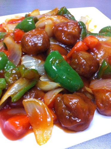 Tender and Mildly Flavored Our Family's Sweet and Sour Pork