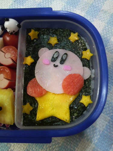 Simple Character Bento Kirby