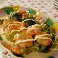 Easy, Tasty, Non-fried Shrimp in Mayonnaise Sauce
