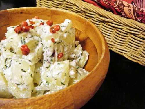 Healthy Yogurt Potato Salad in 5 Minutes
