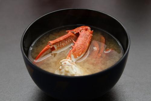 Blue Crab Miso Soup
