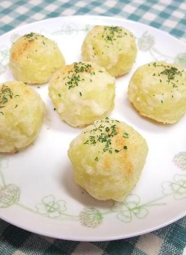 Potato Parmesan Balls