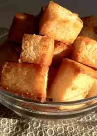 Caramel Rusks * With Sandwich Bread
