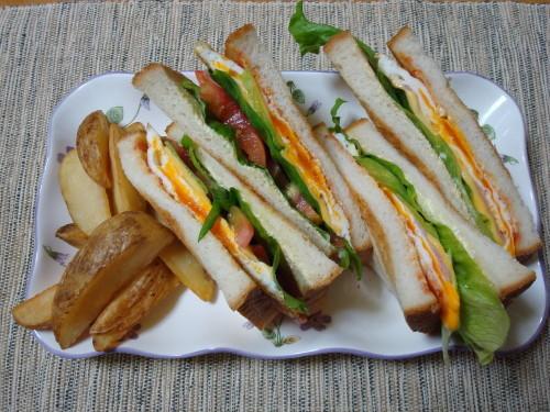 For Brunch Easy Sandwich