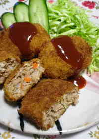 Hearty Veggie Packed Ground Meat Cutlets