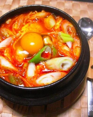 Tasty & Spicy Korean Hot Pot - Sundubu Jjigae