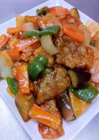 Non-Fried Healthy Sweet and Sour Pork with Pork Loin