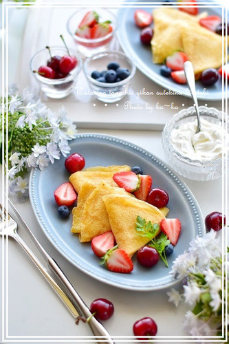 Mille Feuille Cake with Easy-to-Roll Crepes