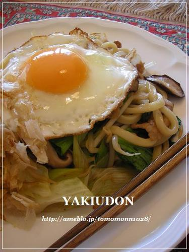 Stir Fried Udon Noodles with Lots Of Vegetables