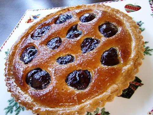 Simmered Chestnut Tart