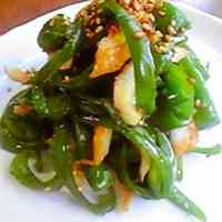 Stir-fried Bell Peppers and Chikuwa