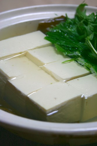 Yudoufu (tofu hotpot)