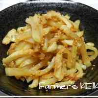 [Farm House Recipe] Daikon and Chikuwa Sweet and Spicy Stir-Fry
