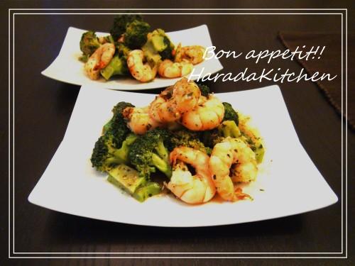 10 Minute Shrimp & Broccoli Basil Sauté