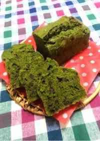 Matcha and Adzuki Poundcake